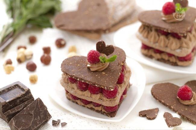 I commenti della ricetta cuoricini al cioccolato e lamponi for Ricette dessert