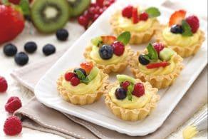 Ricetta Cestini di frutta
