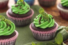 Ricetta Cupcake menta e cioccolato