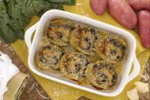Gnoccone agli spinaci
