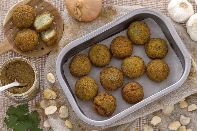 Ricetta falafel di fave la ricetta di giallozafferano - Cucina giallo zafferano ...