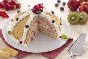 Ricetta Zuccotto Pavesini tuttifrutti