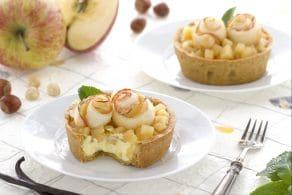 Ricetta Crostatine con composta di mele