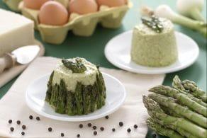 Ricetta Flan di asparagi