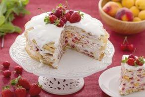 Ricetta Torta di crepes dolci