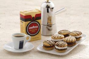 Ricetta Bacetti alla crema di caffè