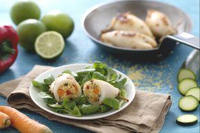Ricetta Calamari ripieni di couscous