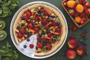 Ricetta Pizza dolce alla frutta