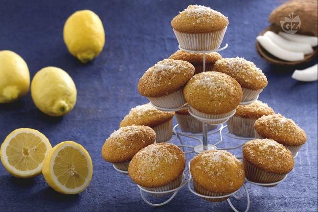 Muffin al cocco e limoncello