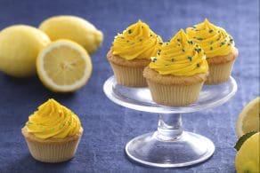 Ricetta Cupcake al limoncello