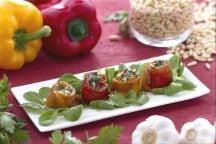 Filetti di peperoni arrostiti con acciughe ai sapori