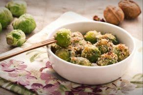 Cavoletti di Bruxelles con gorgonzola e noci