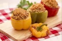Ricetta Peperoni ripieni di carne e salsiccia