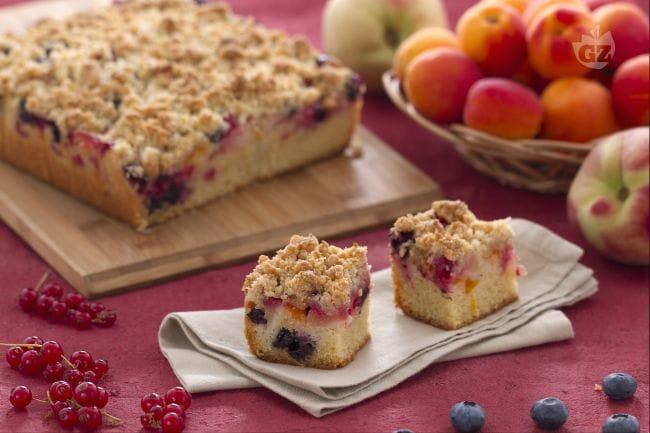 ricetta crumb cake con frutta estiva la ricetta di