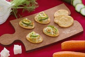 Ricetta Spianatine con julienne di verdure e Asiago