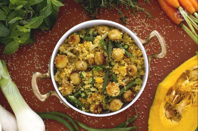 Ricetta couscous con verdure e polpettine di pesce la for Barilla ricette