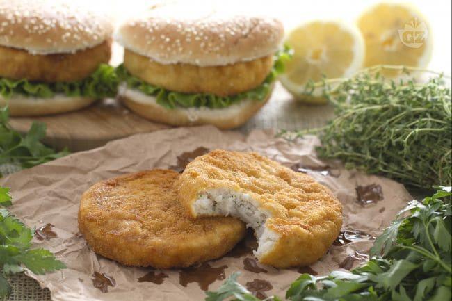 ricetta burger di pesce - la ricetta di giallozafferano - Come Cucinare Hamburger Di Carne