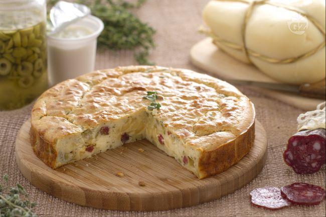 ricetta torta 7 vasetti salata la ricetta di giallozafferano