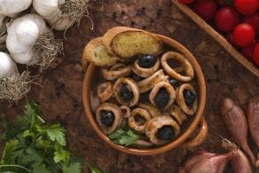 Ricetta Calamari alle olive