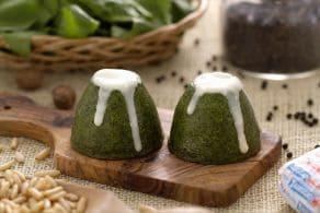 Ricetta Flan di spinaci e taleggio