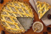 Ricetta Crostata con crema di castagne