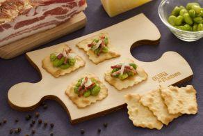 Sfoglie classiche con fave, pancetta e pecorino