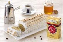 Ricetta Tronchetto al caffè con meringa flambé