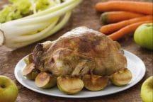 Pollo ripieno del ringraziamento