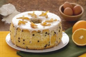 Ricetta Chiffon cake arancia e cioccolato