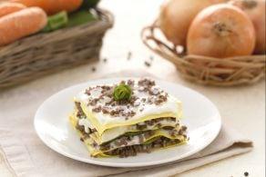 Ricetta Lasagne al ragù bianco e zucchine