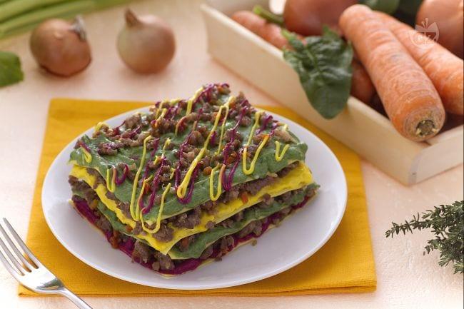 Ricetta lasagne colorate la ricetta di giallozafferano for Barilla ricette