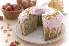 Chiffon cake multicolor