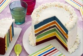 Ricetta Torta arcobaleno