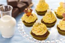 Ricetta Cupcake al miele decorati