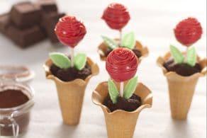 Ricetta Cake pops roselline