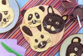 Ricetta Pancakes animaletti