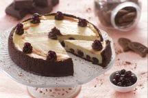 Cheesecake ricotta e amarene