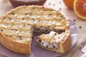 Ricetta Crostata pasquale alla ricotta e cioccolata