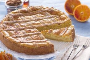 Ricetta Pastiera alle mandorle e crema pasticcera