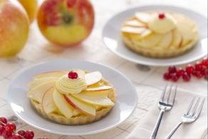 Ricetta Crostatine alle mele e cannella