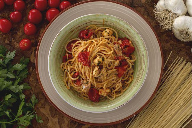 Spaghetti all'acqua pazza