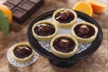 Cestini all'arancia e cioccolato