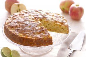 Torta di mele soffice