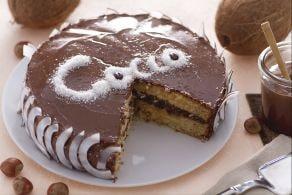Ricetta Torta al cocco e Nutella
