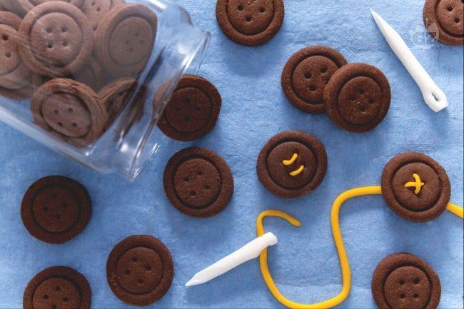 Favorito Ricetta Biscotti bottoni al cacao - Ricette per Bambini IS93