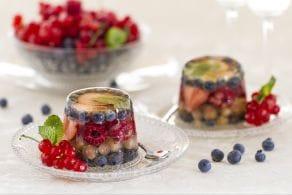 Ricetta Aspic ai frutti di bosco