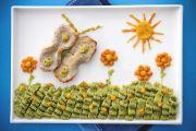 Farfalle di lonza su crema di broccoli
