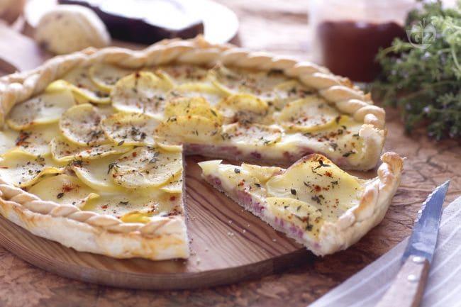 Ricetta torta rustica salata le ricette di for Ricette torte salate