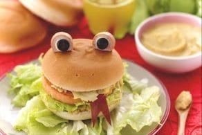 Hamburger ranocchia