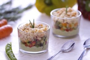Ricetta Crumble di verdure